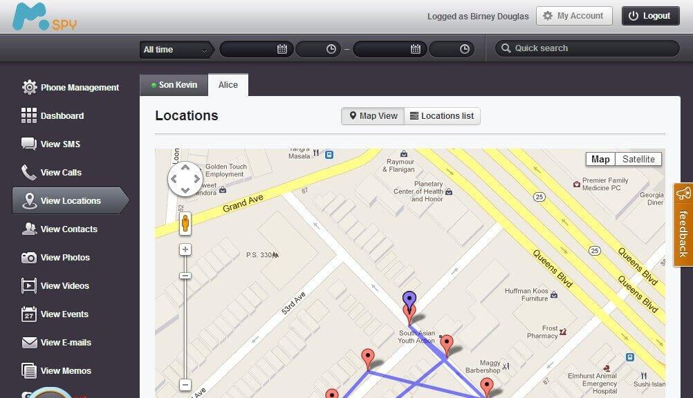 GPS Konumunu Takip Etme İmkanı